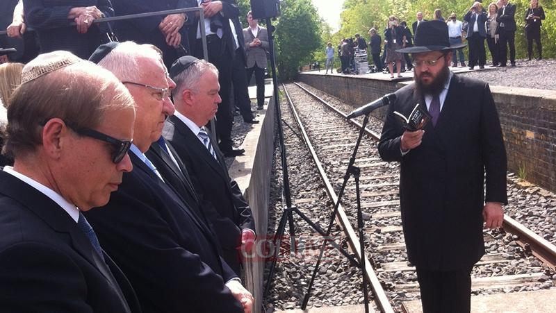 Köszönetet mondott a chábádnak az izraeli elnök Berlinben