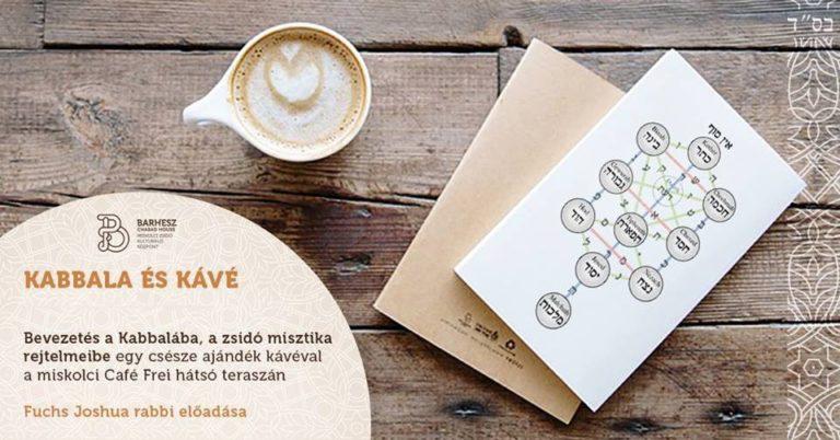 Kabbala és kávé – Bevezetés a zsidó misztika rejtelmeibe
