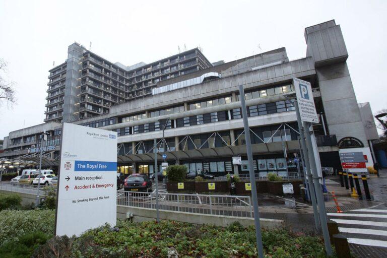 A gyanú szerint zsidó pácienst fenyegettek meg egy londoni kórházban