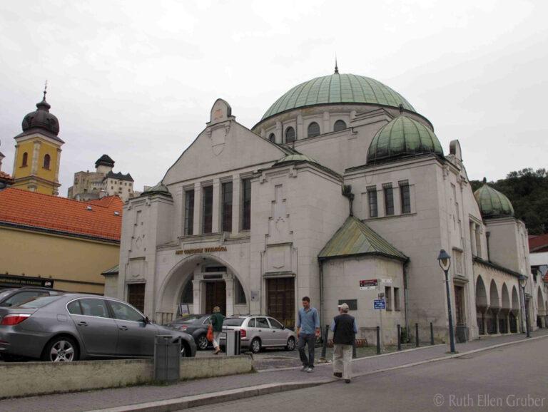 Megújul a trencséni zsinagóga