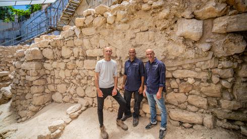 A jeruzsálemi városfal újabb szakaszára találtak rá