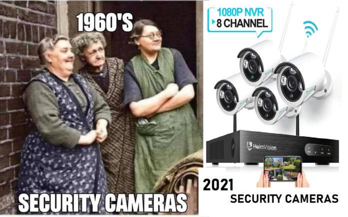 A biztonsági kamerák és a sábesz