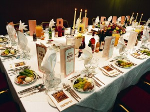 Israel --- Table Set for Seder --- Image by © Royalty-Free/Corbis