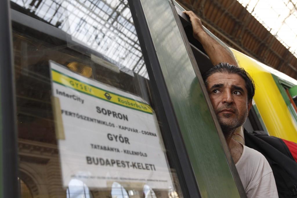 Illegális bevándorlós - Keleti pályaudvar