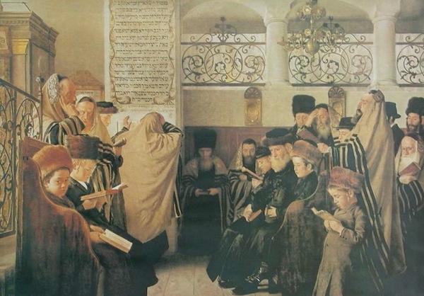 Isidor Kaufman: Az engesztelés napja