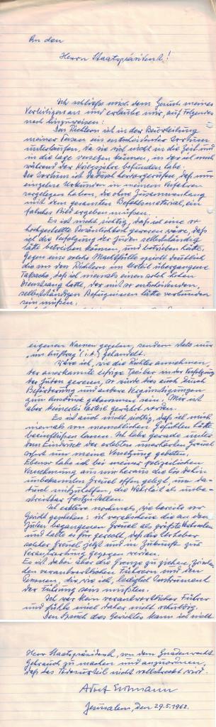 eichmann-levél