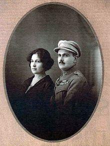 Barros Basto a feleségével, Lea Azancottal