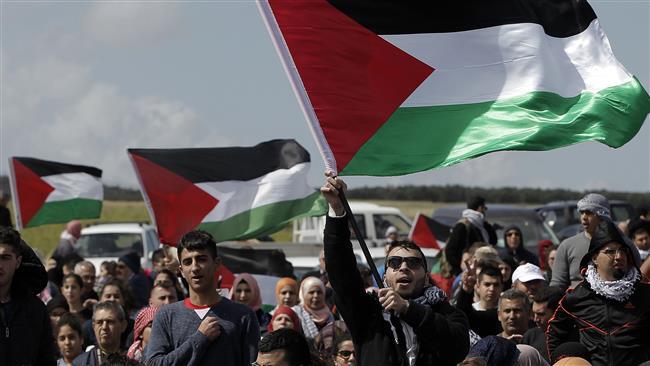 """Arab tüntetők a """"katasztrófa napján"""""""
