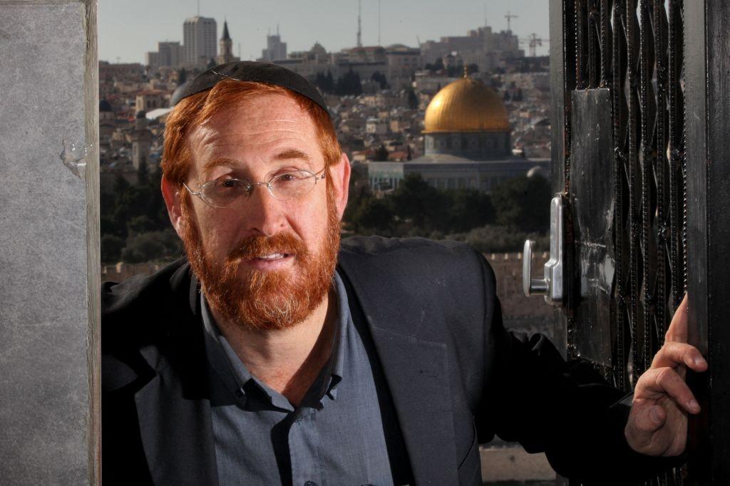 A Kneszetben Jáálont váltó Jehuda Glick