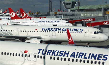 A Turkish Airlines gépei