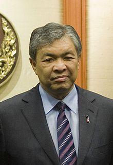 Malajzia miniszterelnök helyettese