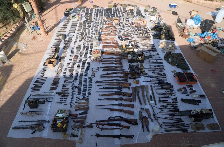 Terroristák fegyvergyáraira csaptak le Izraelben