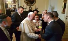 Megkapta a zsidó tagsági igazolványát Ferenc pápa