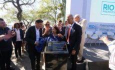 Holokauszt-emlékhely alapkövét tette le Rio de Janeiro polgármestere