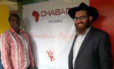 Afrikában is segít a rászorulóknak a Chábád