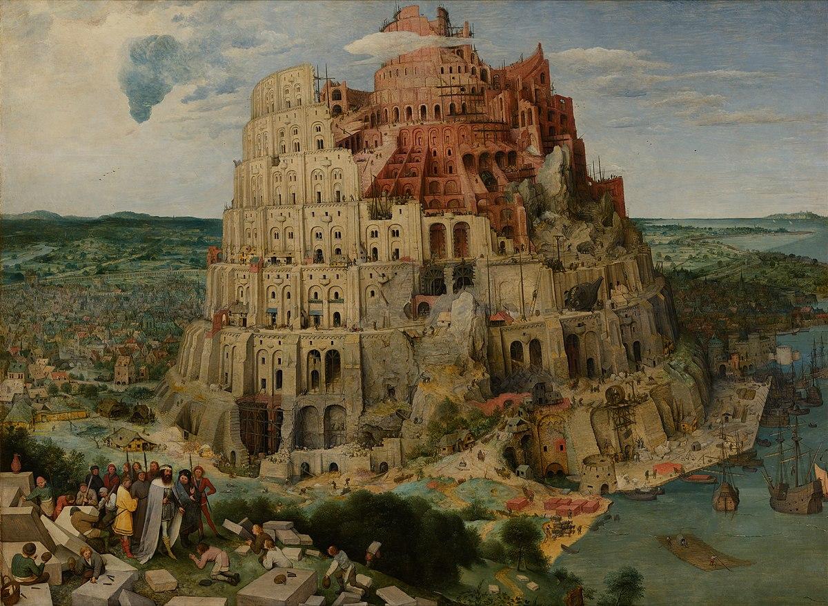 A hetiszakasz földrajza: Bábel tornya