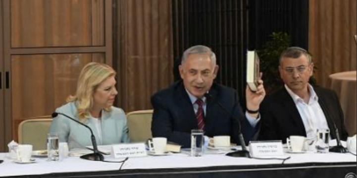 Biblia-tanulmányozó rendezvényt tartott Netanjahu