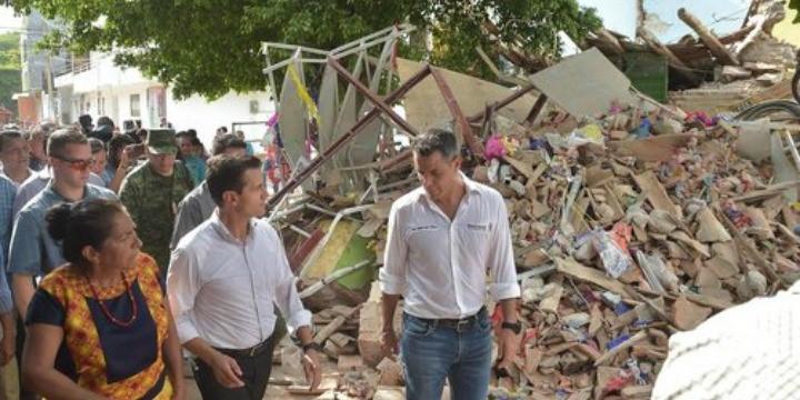 Köszönetet mondott Mexikó elnöke Izraelnek a földrengés utáni segítségért