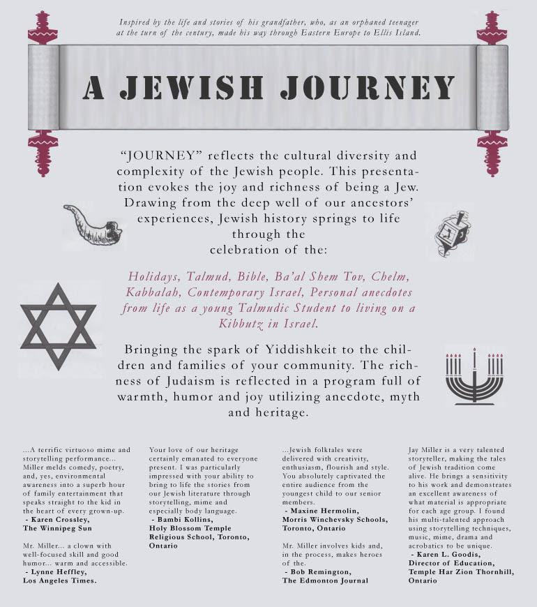 Egy zsidó utazás: Zsidó mesék és személyes történetek Jay Millertől