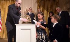 A zsidók hitét éltette Trump a Fehér Ház hanuka ünnepségén