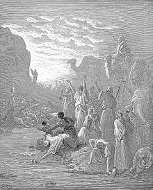 A hetiszakasz földrajza: Horev-hegy