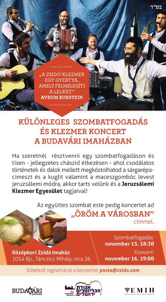 Különleges vendégek a Budavári Imaházban