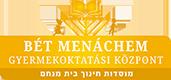 Bét Menachem Héber-Magyar Két tannyelvű Általános Iskola BEIRATKOZÁS