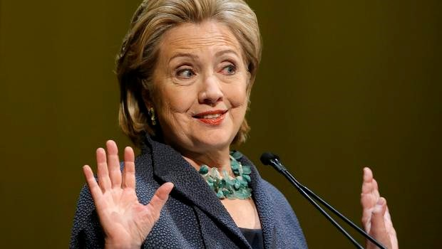 Cionista logó inspirálta Hillary Clintont?