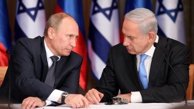 Putyin figyelmeztette Izraelt