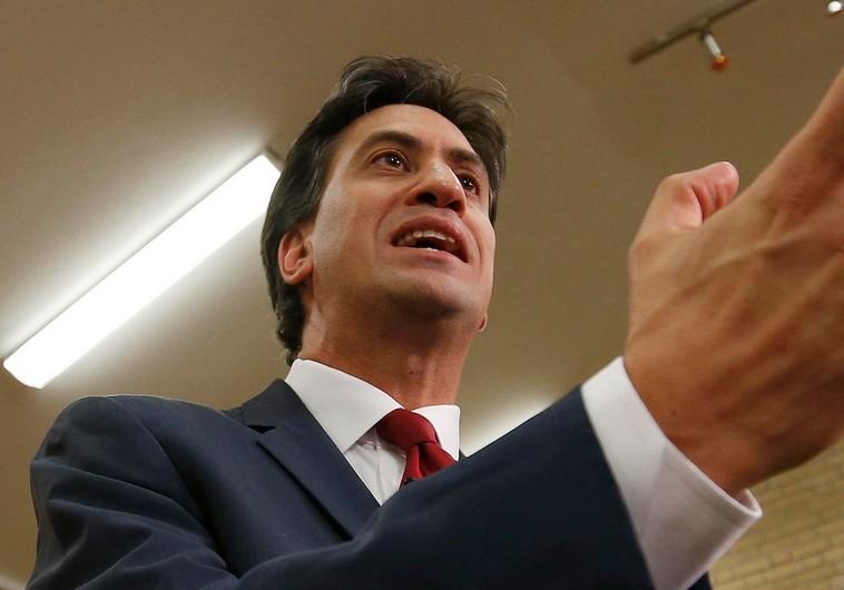 Ed Miliband-et lezsidózták
