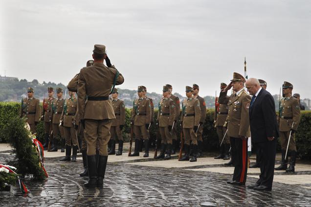 '48-as hősökre emlékeztek a Honvédelem napján