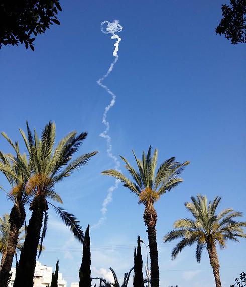 Látványos rakétateszt Izraelben