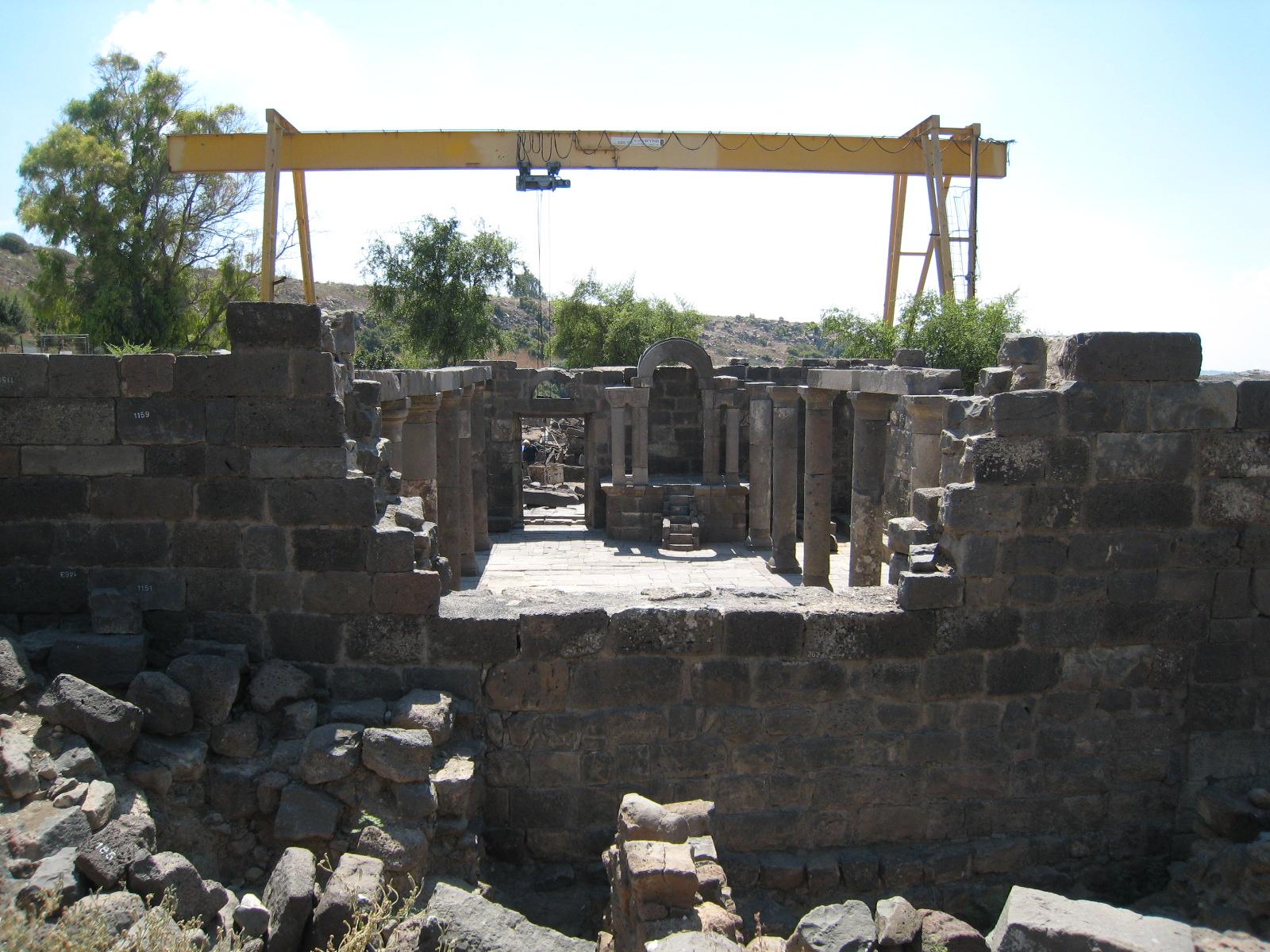 Barangolások Izraelben: az ezerötszáz éves zsinagóga és a számítógépes modellezés találkozása