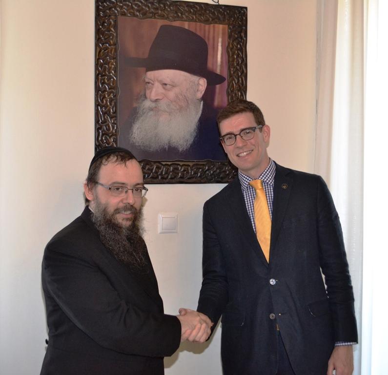 Ha a zsidóság helyzetére kíváncsi, menjen a Chábád rabbihoz