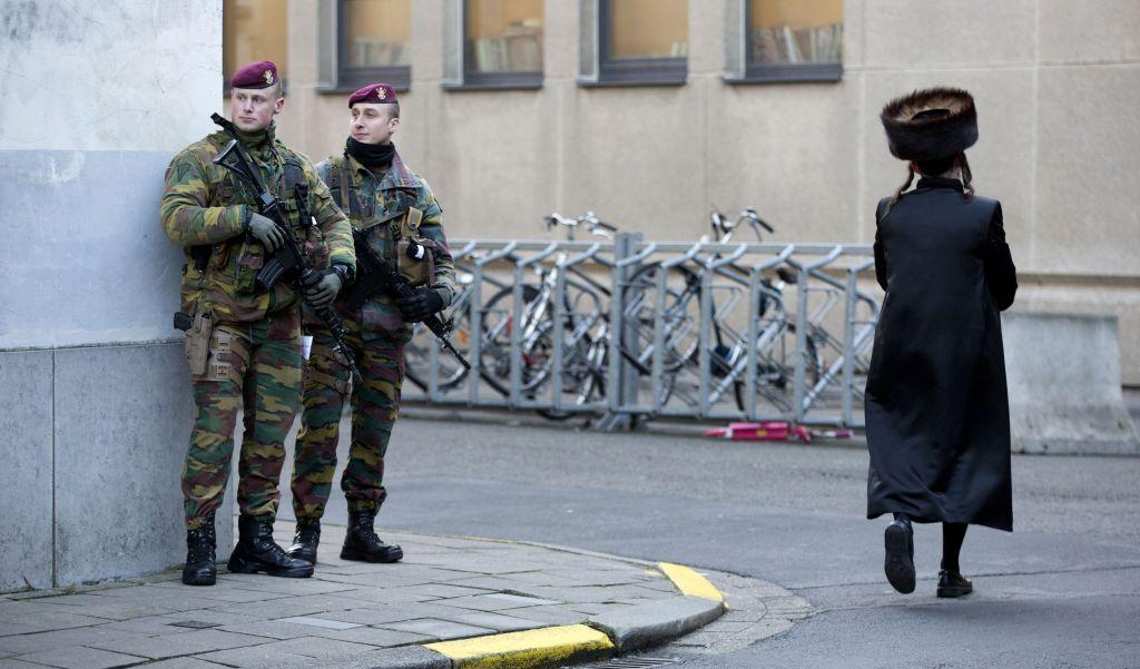 Belgiumban megerősítik a zsidó közösség védelmét