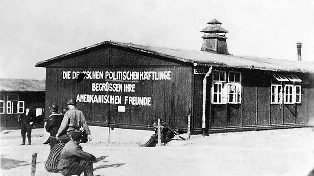 A buchenwaldi koncentrációs táborban szállásoltak el menekülteket