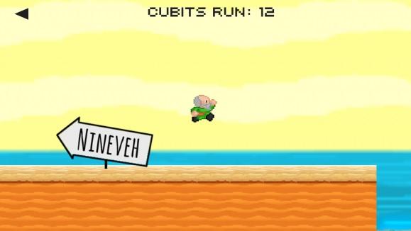 Super Mario helyett Futó Jónás