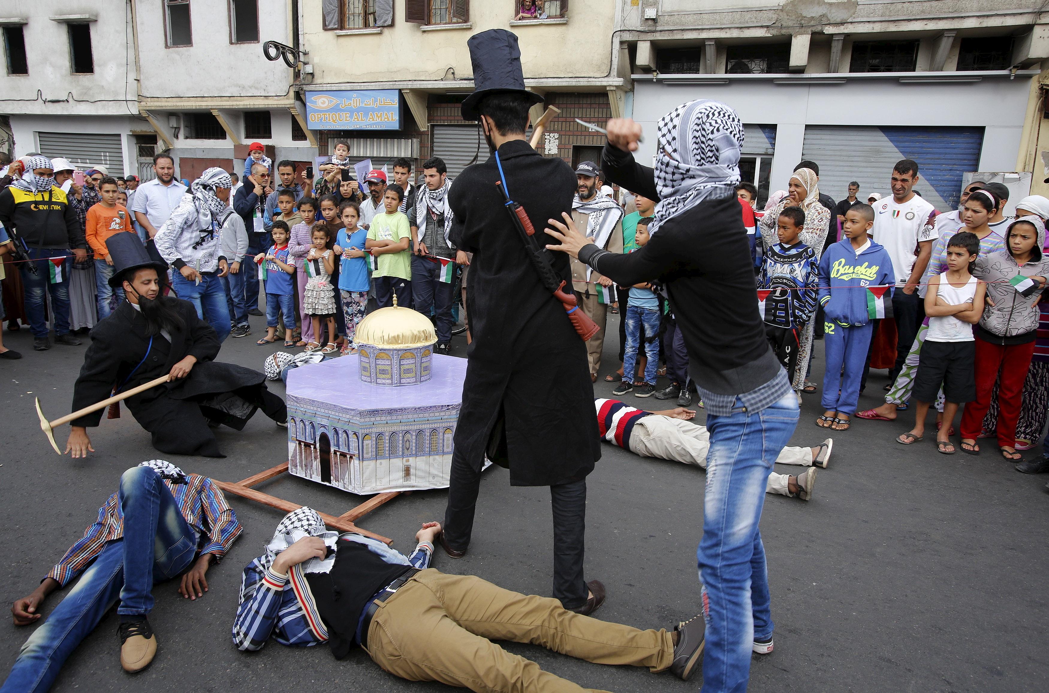 Erősödő antiszemitizmus Marokkóban