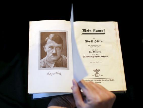 Napokon belül újra kiadják Németországban a Mein Kampfot
