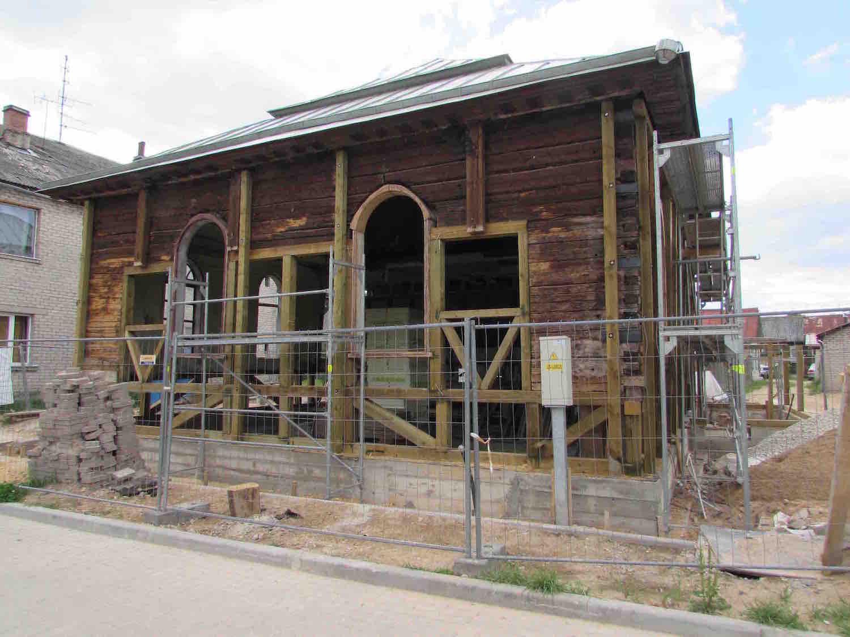 Megmenekül Lettország legrégebbi zsinagógája