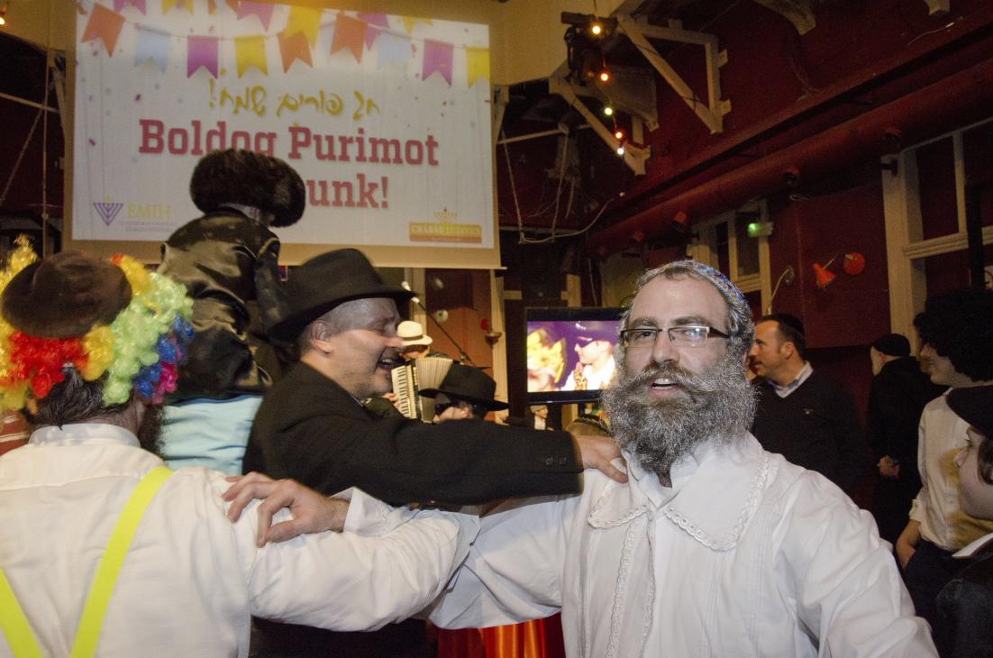 Az öröm ragadós – Absolut Purim Party 2016