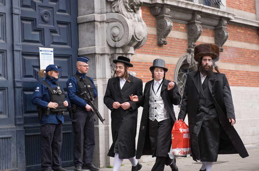 Meg tudja-e védeni Belgium a zsidó közösségét?