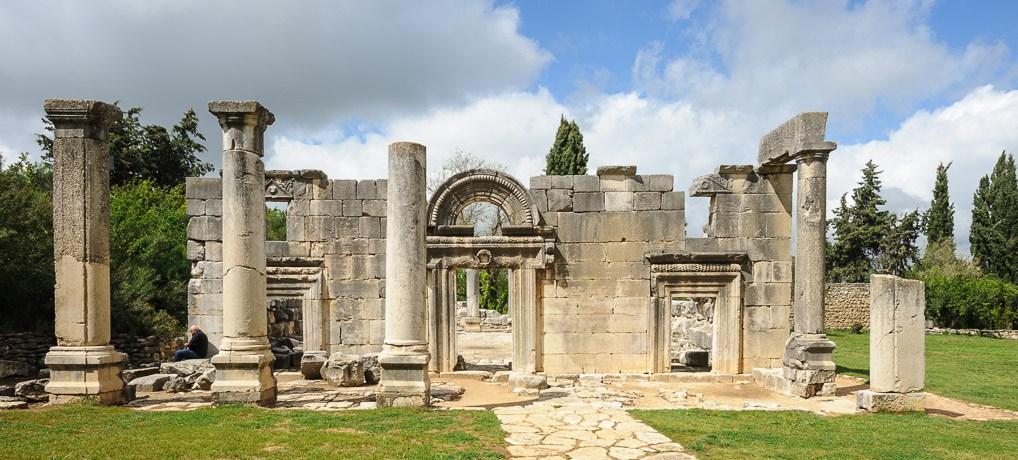Az Észak-Izraelben, a Gálilban található, Bár-Ám-i zsinagógájának ma is látogatható romjai