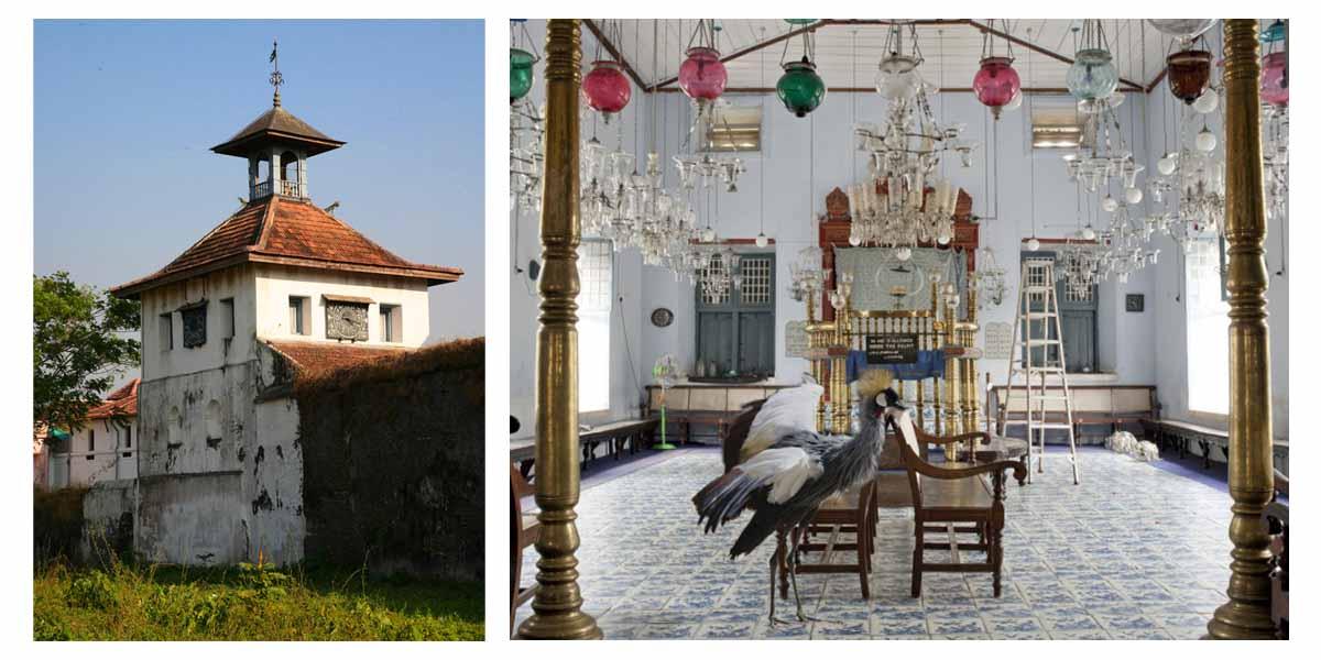 """1568-ban épült a dél-indiai Kochi zsinagógája, a Paradesi (""""idegen"""") zsinagóga, mely a cochini, vagy fehér zsidók imádkozóhelye volt"""