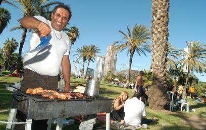 Kóser gasztro: grillezés a szabadban