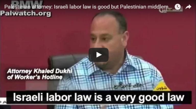Az izraeli munkahely sokkal jobb – mondják a palesztinok