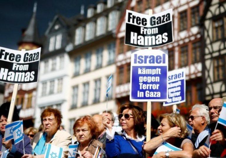 Frankfurt szembeszállt az Izrael-ellenes mozgalommal