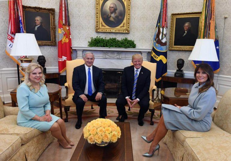 Netanjahu a Fehér Házban tárgyalt