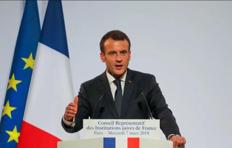 Macron: Egy nap majd elismerjük Nyugat-Jeruzsálemet Izrael fővárosnak