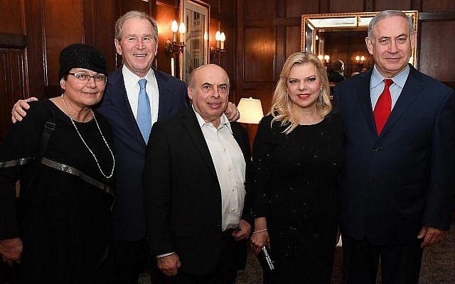 George W. Bush támogatásával nyit új irodát a Jewish Agency New Yorkban